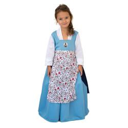 Disfraz La Bella Campesina Con Luz Talle 1 Disney CAD114210