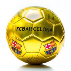 Juguete Sorma N2 Barcelona Pelota Chica Dorada