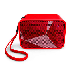 Parlante Portátil Inalámbrico Bluetooth Philips BT110R/00 Rojo