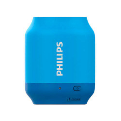 Parlante Portátil Bluetooth Philips BT51A/00 Azul