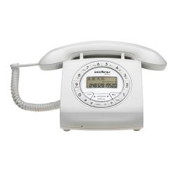 Teléfono Fijo Intelbras TC 8312 Blanco