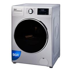 Lavarropas Automático Inverter 8 Kg 1350 Rpm BGH BWFI8S18 Plata