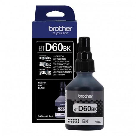 Tinta Brother Negro Btd60bk Para T310 T510w T710 Original