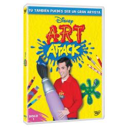 Dvd/Blu-Ray/Cd Disney ART Attack Vol.1