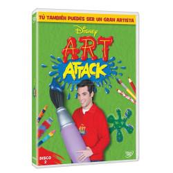 Dvd/Blu-Ray/Cd Disney ART Attack Vol 2