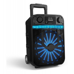 Parlante Philips Bass+ Tanx20 Portátil Inalámbrico Negro 100