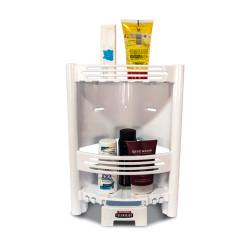 Organizador angular para ducha c/cajon jabonera