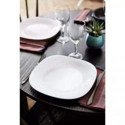6 platos playos + 6 postre diseño
