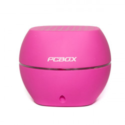 PARLANTES PCBOX ASH PCB-S1100 ROSA - BATERIA 1000mAh - BLUETOOTH