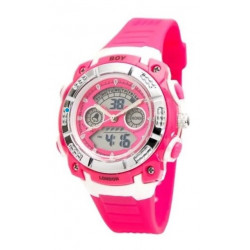 RELOJ BOY LONDON - SPORT - UNIXEX - FUCSIA