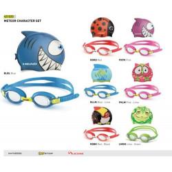 ANTIPARRA Y GORRA HEAD - Goggle Set METEOR CHARACTER