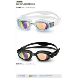 ANTIPARRA HEAD - Goggle SUPERFLEX Mirrored - CLEAR SMOKE MIRRORED