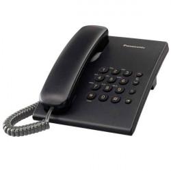 Telefono de Mesa Panasonic Black