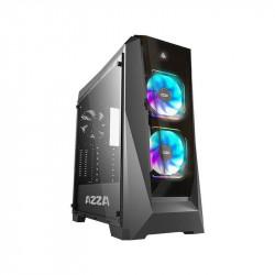 Gabinete Azza 410B Chrome Prisma Mid Atx