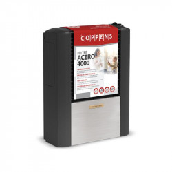 Calefactor Coppens Peltre Acero 4000 KcalH tb Salida derecha