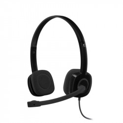 Auriculares Logitech H151 Stereo Black