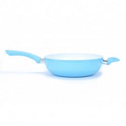 Wok ceramica 26 cm Celeste Carol linea Soft (47127)