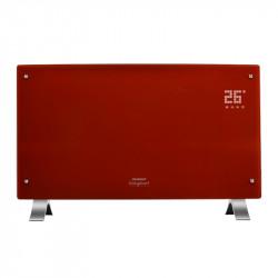 Vitroconvector Peabody Pe-Vqd20R - Rojo 2000W Termostato Frente Curvo Touch Panel DispDigital