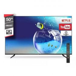 Tv Led 4K 50 Rca Smart AndroidTv Netflix Youtube Comando de Voz Tda wifi
