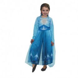 Disfraz Disney Frozen 2 Elsa Celeste Talle 3 (CAD 1015)