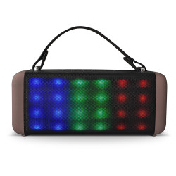 Parlante RCA Boombox Bluetooth 450w con Luces Led