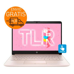 "Hp 14"" Touch Pink 8gb + 512 SSD / Notebook intel N5405 W10"