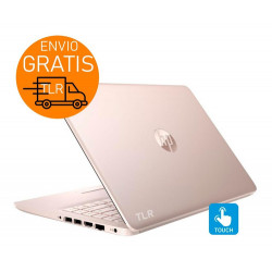"Hp 14"" Touch Pink 8gb + 256 SSD / Notebook intel N5405 W10"