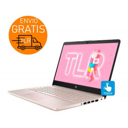 "Hp 14"" Touch Pink 20gb + 256 SSD / Notebook intel N5405 W10"