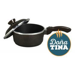 Cacerola Mango 18 Cm Doña Tina Teflon Tipo Essen Cod 2001