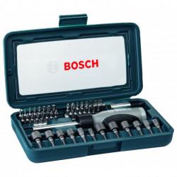 Set con 46 unidades para atornillar Bosch (2607017399-000)