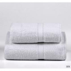 Set de 2 toallones 400 grs Blanco Danubio (006002-002-3578 x2)
