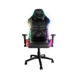 SILLA GAMER NOGA TYPHON NEGRA LED RGB