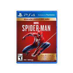 PS4 Spiderman Game of The Year Edition