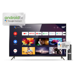 "SMART TV 50"" TCL L50P8M 4K UHD HDR ANDROID TV AI"