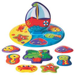Juguete didáctico Playgro FLOATY BOAT BATH PUZZLE