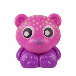 Juguete didáctico Playgro GOODNIGHT BEAR NIGHT LIGHT AND PROJECTOR Pink