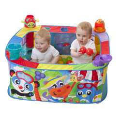 Juguete didáctico Playgro POP AND DROP BALL ACTIVITY GYM