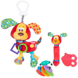 Juguete didáctico Playgro PUPPY TEETHER PACK