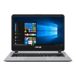 "NOTEBOOK 14"" ASUS X407M CELERON N4000 8GB HDD 1TERA HD WIN 10 STAR GREY"