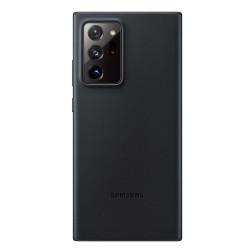 Funda Samsung de cuero para Galaxy Note20 Ultra - Negro