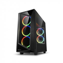 Gabinete Sharkoon Rev200 Black Mid Tower