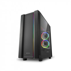 Gabinete Sharkoon Rev220 Black Mid Tower
