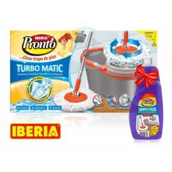 IBERIA PRONTO TURBO MATIC - LIMPIADOR MOPA PARA PISOS