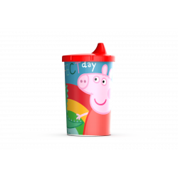 Vaso Tapa Tomadora Peppa Pig