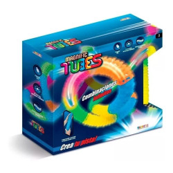 Pista Flexible Magnific Tubes Luminosa 90220 Juego Carreras