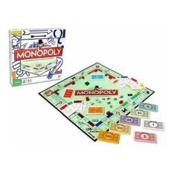 Juego De Mesa Monopoly Popular Familiar Hasbro Chico