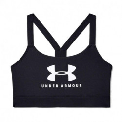 TOP UNDER ARMOUR MID SPORTSTYLE GRAPHIC MUJER