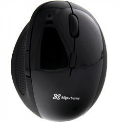 Mouse Klipxtreme Orbix ergonómico de seis botones KMW-500BK