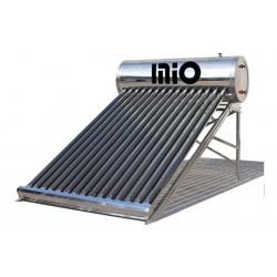 Termotanque Solar Acero Inoxidable 200 Lts Anodo Resistencia