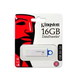 Pendrive Kingston 3,0 DTIG4 16GB Blanco